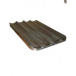 bandeja aluminio perforado 40x60 4 canales (Min. 10 Uni.) [406004LL]